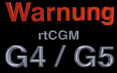 Vorsicht bei Dexcom® G4/G5 – nicht sichere Glukose Mess-Systeme