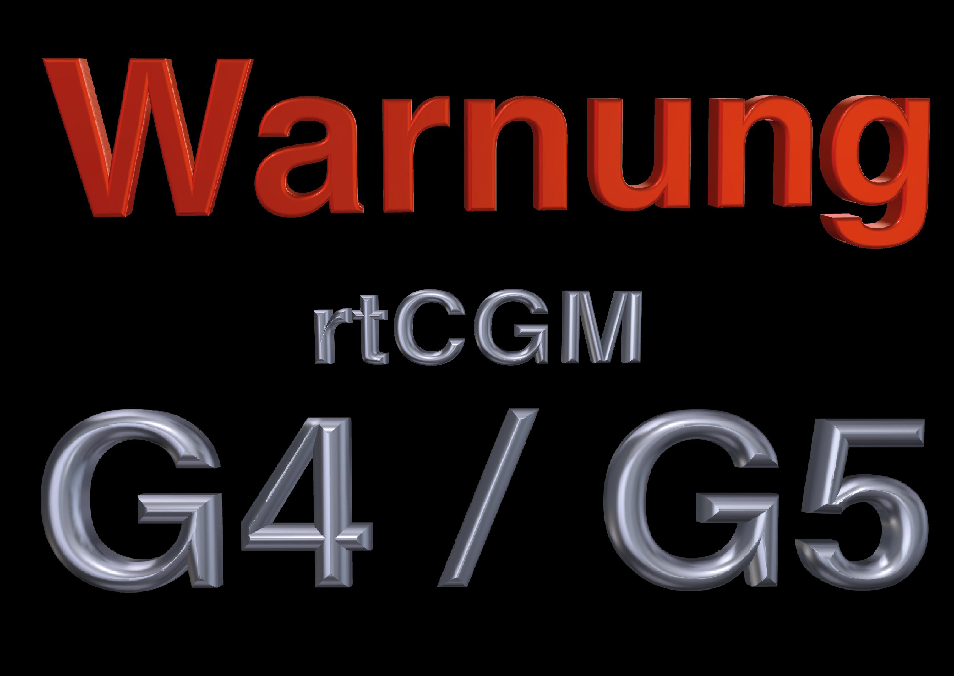 Warnung G5 G4 2